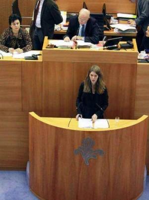 """""""Fusie politiezones is antwoord op veel, maar helaas niet hét antwoord op het gebrekkig deradicaliseringsbeleid."""" - Tussenkomst plenair debat Els Ampe"""